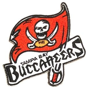 Tampa Bay Buccaneers patch NFL football iron on